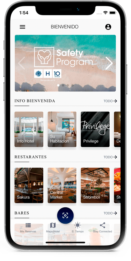 Home page app hotels and resorts
